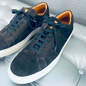 Great The Royale Leather Lined Suede Sneakers